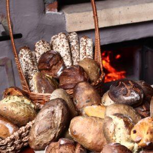 Живий хліб з печі